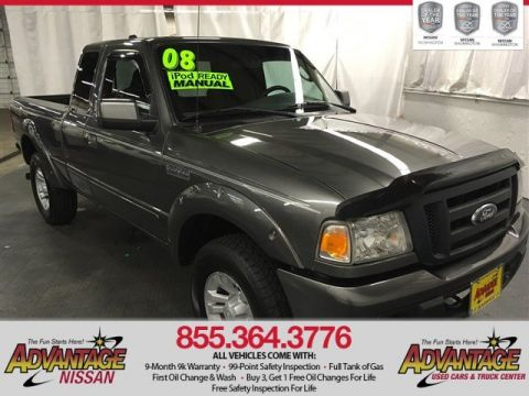 Pre-Owned 2008 Ford Ranger FX4 Off-Rd 4WD