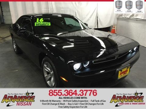 Pre-Owned 2016 Dodge Challenger SXT RWD 2dr Car