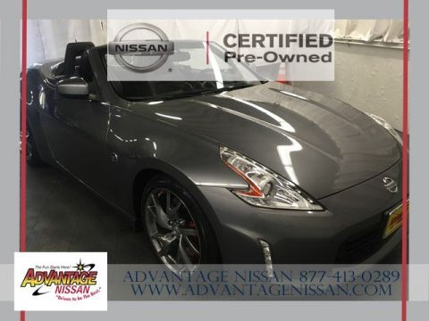 Certified Pre-Owned 2013 Nissan 370Z Touring RWD Convertible