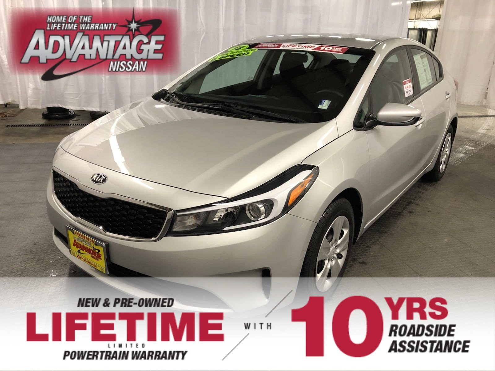 Pre Owned 2018 Kia Forte Lx 4dr Car In Bremerton 9 9432a