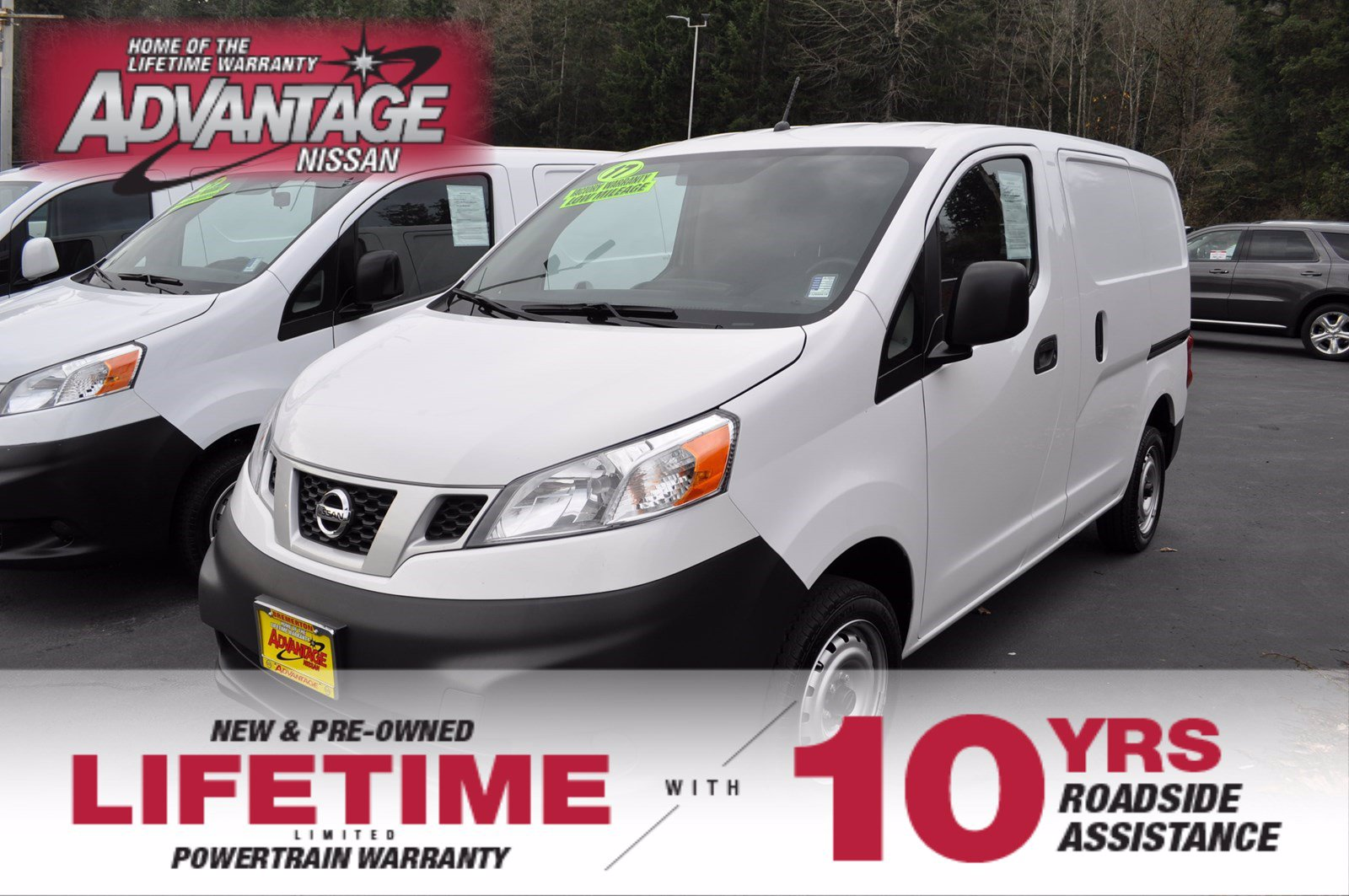 Pre-Owned 2017 Nissan NV200 Compact Cargo S
