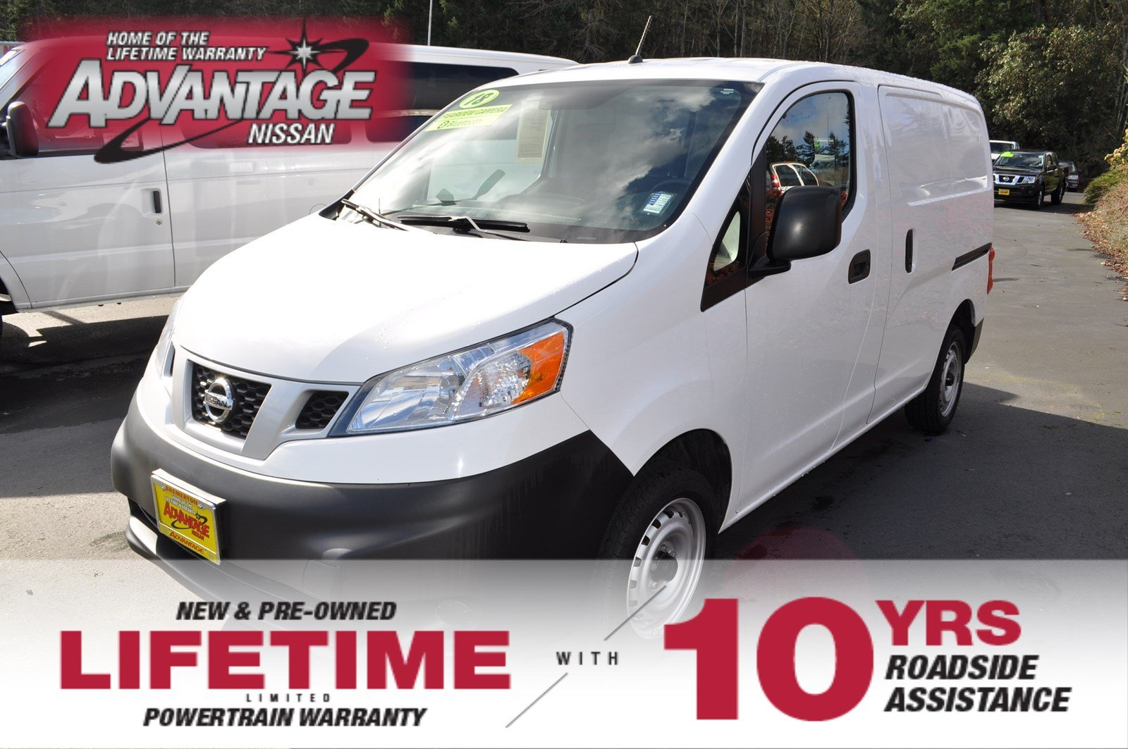Pre-Owned 2018 Nissan NV200 Compact Cargo S