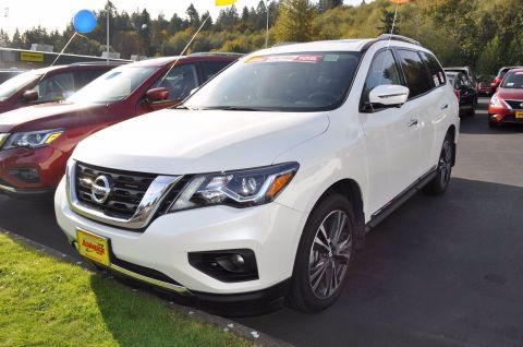 New 2019 Nissan Pathfinder Platinum